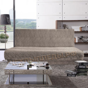 """Жаккард Волна"" Капучино на 3-ех местн. диван без подлокот."