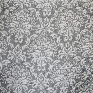 Чехол на угловой классический диван «Жаккард Вензель» Серый