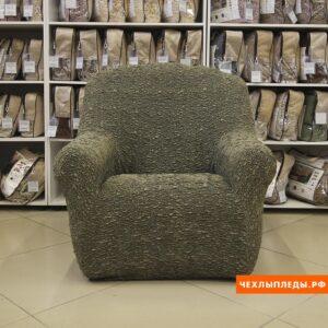 """Чехол на кресло """"Виктория"""" Оливковый"""